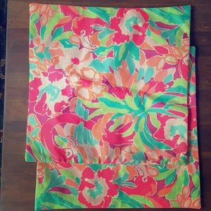 Other - Lilly Pulitzer inspired pillow shams (2) 18x18in